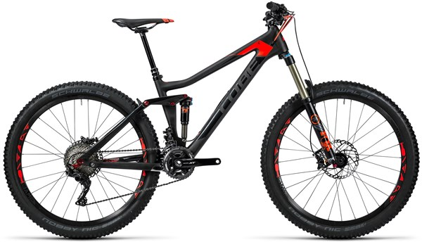Image of Cube Stereo 140 C:62 Race 27.5 2016 Mountain Bike