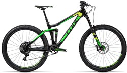 Image of Cube Stereo 140 C:62 SL 27.5 2016 Mountain Bike