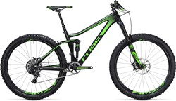 "Image of Cube Stereo 140 C:62 Sl 27.5""  2017 Mountain Bike"