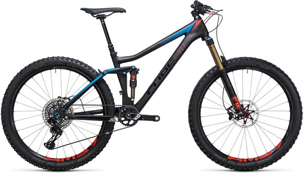 "Image of Cube Stereo 140 C:68 Slt 27.5""  2017 Mountain Bike"