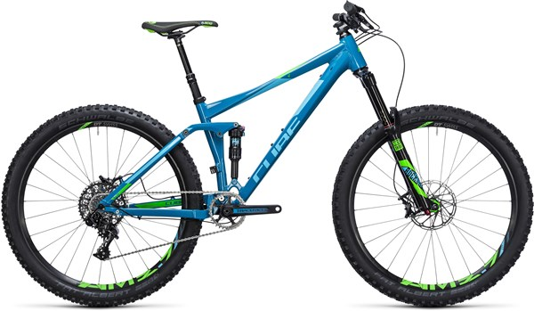 "Cube Stereo 140 HPA SL 27.5""  2017 Mountain Bike"