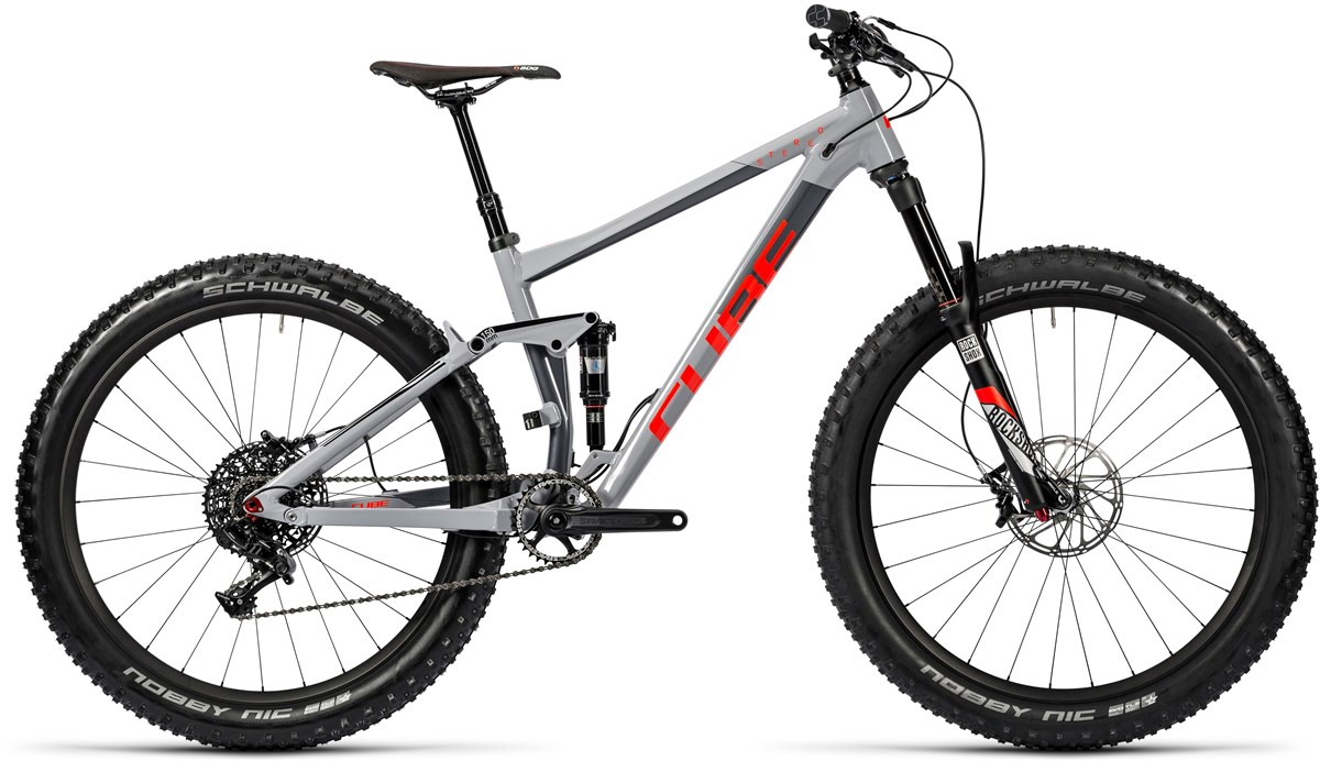Cube Stereo 150 HPA Race 27.5+ 2016 Mountain Bike