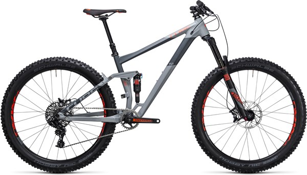 "Image of Cube Stereo 150 HPA Race 27.5""+ 2017 Mountain Bike"