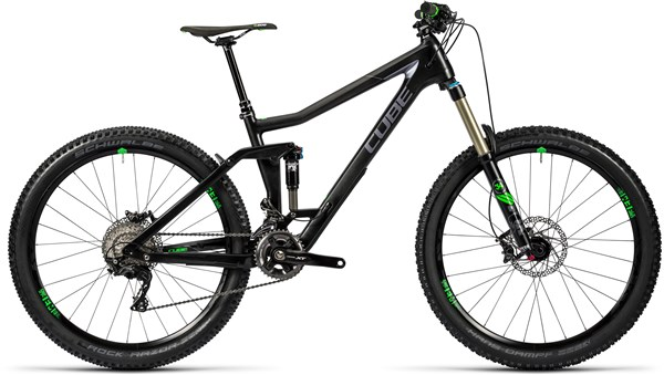 Image of Cube Stereo 160 C:62 Race 27.5 2016 Mountain Bike