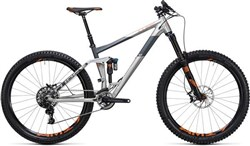 "Image of Cube Stereo 160 C:62 Sl 27.5""  2017 Mountain Bike"
