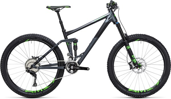 "Image of Cube Stereo 160 HPA SL 27.5""  2017 Mountain Bike"