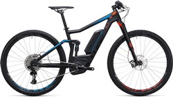 Image of Cube Stereo Hybrid 120 C:62 SLT 500 29er  2017 Electric Mountain Bike