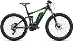 "Image of Cube Stereo Hybrid 120 HPA 27.5""+ Race 500 2017 Electric Mountain Bike"
