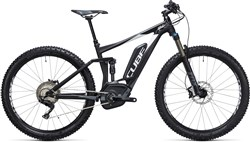 "Image of Cube Stereo Hybrid 120 HPA 27.5""+ SL 500 27.5""  2017 Electric Mountain Bike"