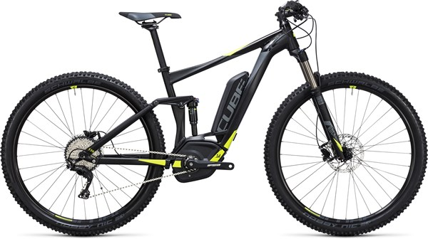 "Image of Cube Stereo Hybrid 120 HPA Pro 500 27.5""  2017 Electric Bike"