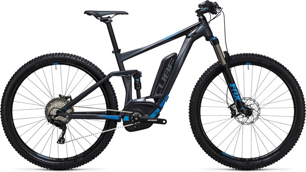 Image of Cube Stereo Hybrid 120 HPA Race 500 29er 2017 Electric Bike