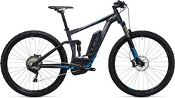 Image of Cube Stereo Hybrid 120 HPA Race 500 29er 2017 Electric Mountain Bike