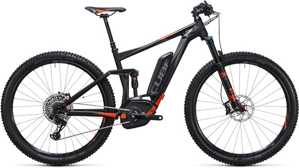 "Image of Cube Stereo Hybrid 120 HPA SL 500 27.5""  2017 Electric Bike"