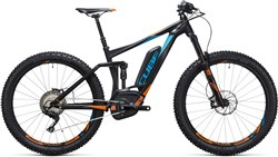 "Image of Cube Stereo Hybrid 140 HPA 27.5""+ SL 500 2017 Electric Mountain Bike"