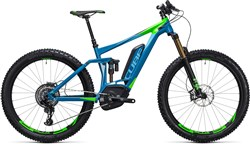 "Image of Cube Stereo Hybrid 140 HPA 27.5""+ SLT 500 2017 Electric Mountain Bike"
