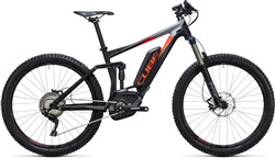 "Image of Cube Stereo Hybrid 140 HPA Pro 500 27.5""  2017 Electric Mountain Bike"