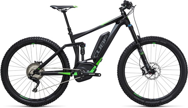 "Image of Cube Stereo Hybrid 140 HPA Race 500 27.5""  2017 Electric Bike"
