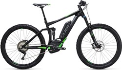 "Image of Cube Stereo Hybrid 140 HPA Race 500 27.5""  2017 Electric Mountain Bike"