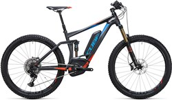 "Image of Cube Stereo Hybrid 140 HPA SL 500 27.5""  2017 Electric Mountain Bike"
