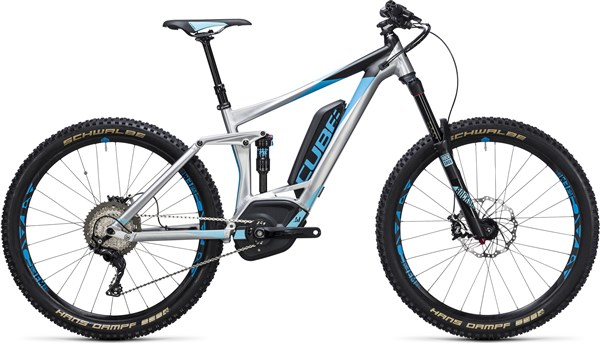 "Image of Cube Stereo Hybrid 160 HPA Race 500 27.5""  2017 Electric Bike"