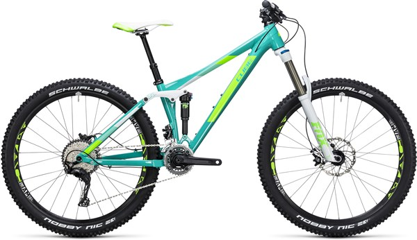 "Image of Cube Sting WLS 140 Race 2X 27.5"" Womens  2017 Mountain Bike"
