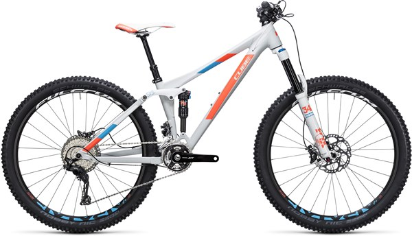 "Image of Cube Sting WLS 140 SL 27.5"" Womens  2017 Mountain Bike"