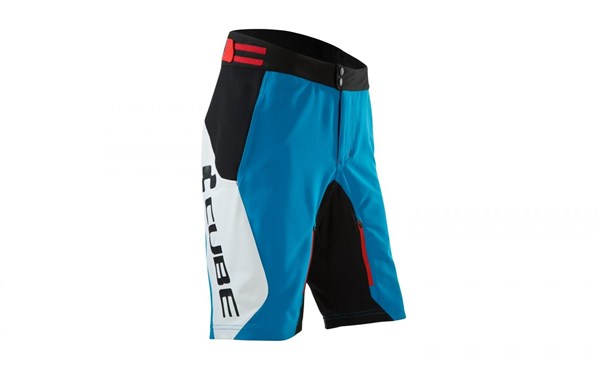 Image of Cube Teamline Baggy Cycling Shorts