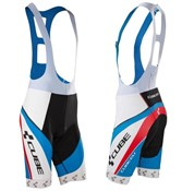 Image of Cube Teamline Bib Cycling Shorts