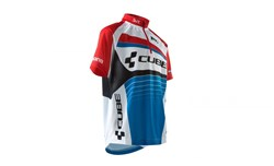 Image of Cube Teamline Junior Short Sleeve Cycling Jersey