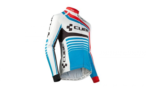 Image of Cube Teamline Long Sleeve Cycling Jersey
