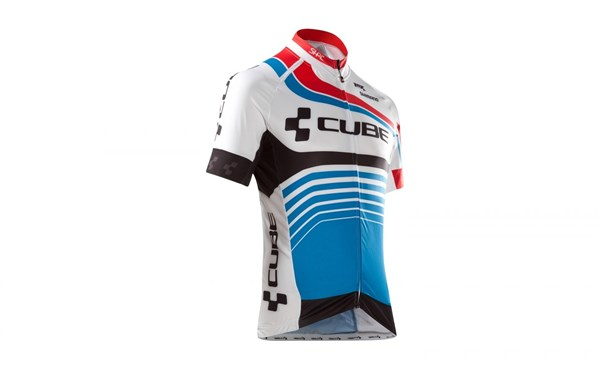Image of Cube Teamline Short Sleeve Cycling Jersey
