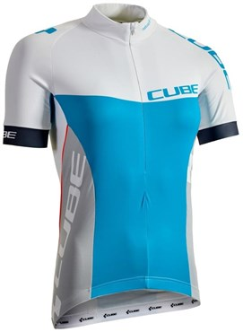 Image of Cube Teamline WLS Womens Short SLeeve Cycling Jersey