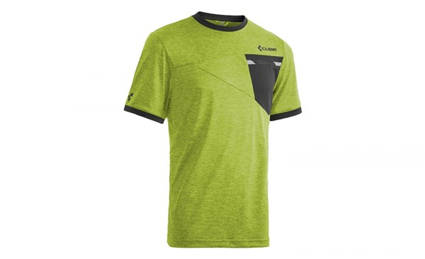 Image of Cube Tour Roundneck Free Short Sleeve Cycling Jersey