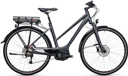 Image of Cube Touring Hybrid 400 28 Trapeze  2017 Electric Bike