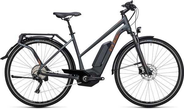 Image of Cube Touring Hybrid Exc 500  Trapeze  2017 Electric Bike
