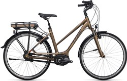 Image of Cube Travel Hybrid 500  Trapeze  2017 Electric Hybrid Bike
