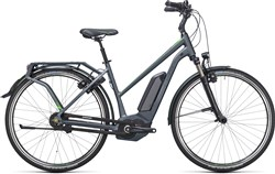 Image of Cube Travel Hybrid Pro 400  Trapeze  2017 Electric Bike