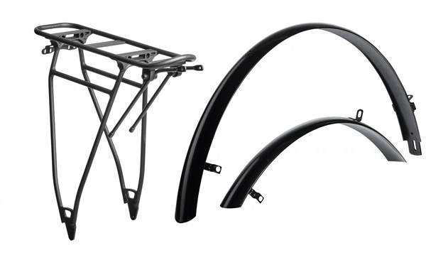 Image of Cube Trekking HPA Mudguard and Rear Rack Set
