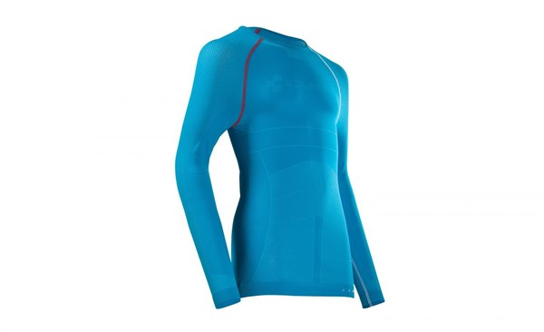 Image of Cube Undershirt Functional Teamline Long Sleeve Cycling Base Layer