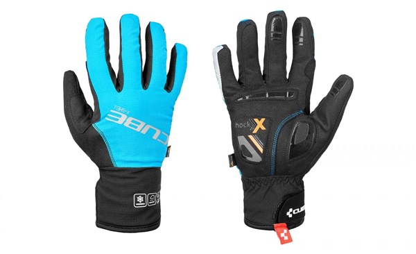 Image of Cube X-Shell Natural Fit Long Finger Cycling Gloves