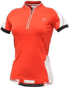 Image of Dare2B Emerge Womens Short Sleeve Cycling Jersey