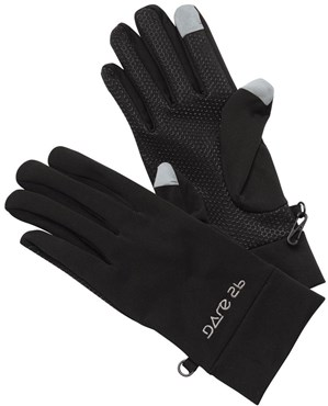 Image of Dare2B Softshell Smart Long Finger Cycling Gloves