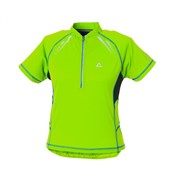 Image of Dare2B Youth Outcome Short Sleeve Cycling Jersey