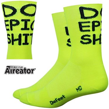 "Image of DeFeet Aireator 5 ""Do Epic Sh!"" Socks"
