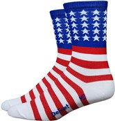 "Image of DeFeet Aireator 5"" USA Socks"