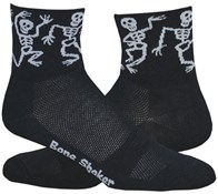 Image of DeFeet Aireator Bone Shaker Socks
