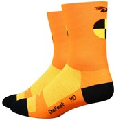 Image of DeFeet Aireator Crash Test Dummy Socks