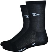 Image of DeFeet Aireator High Top D Logo Socks