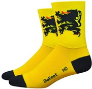 Image of DeFeet Aireator Lion of Flanders Socks