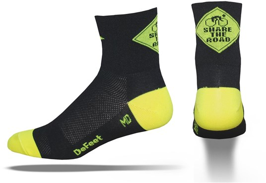 Image of DeFeet Aireator Share The Road Socks